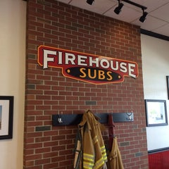 Photo taken at Firehouse Subs by Tom B. on 4/29/2014