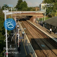 Photo taken at Royston Railway Station (RYS) by Phil M. on 9/5/2013