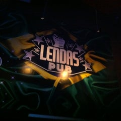 Photo taken at Lendas Pub by Lindiléia M. on 2/2/2013