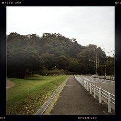Photo taken at 富岡総合公園 by Ken. on 10/14/2012