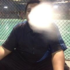 Photo taken at Galaxy Futsal Bangi by Aboi T. on 7/13/2015