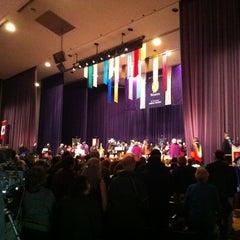 Photo taken at Alumni Hall by Mathew H. on 10/25/2012