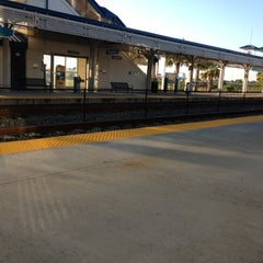 Photo taken at Tri-Rail - Boca Raton Station by Cristina A. on 10/27/2012