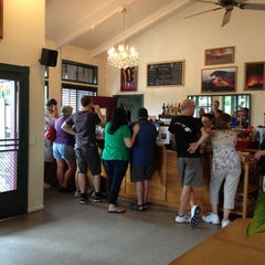 Photo taken at Volcano Winery by Caleb M. on 11/20/2012