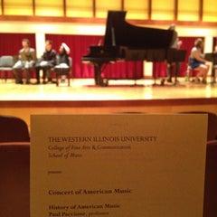 Photo taken at COFAC Recital Hall by Seth F. on 4/30/2013