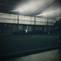 Photo taken at Galaxy Futsal Center by Fahri F. on 8/30/2013