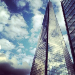 Photo taken at The Shard by Gaz A. on 4/19/2013