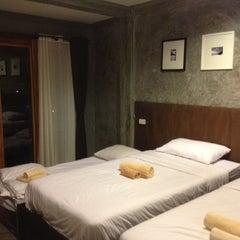 Photo taken at After Glow Hostel by NaMu I. on 10/19/2012