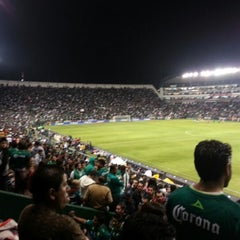 Photo taken at Estadio León by Julio D. on 1/6/2013