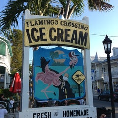 Photo taken at Flamingo Crossing Ice Cream by Gary N. on 1/26/2013