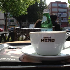 Photo taken at Caffè Nero by Halil K. on 5/11/2013