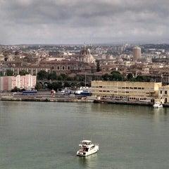 Photo taken at Porto di Catania by Kyle O. on 6/25/2015