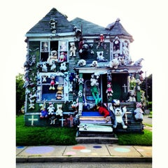 Photo taken at The Heidelberg Project by Karen F. on 7/26/2013