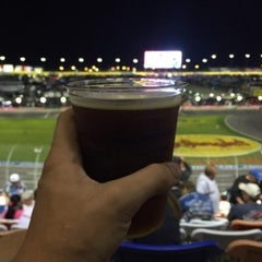 Photo taken at Charlotte Motor Speedway by Ethan M. on 10/9/2015
