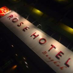 Photo taken at Rose Hotel Bangkok by まえだ ひ. on 5/21/2013