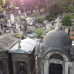 Photo taken at Cimetière de Montmartre by Keven C. on 8/4/2013