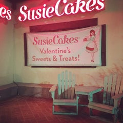 Photo taken at SusieCakes by Sabrina A. on 2/13/2015