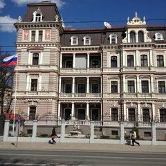 Photo taken at Krievijas vēstniecība | Посольство России by Viacheslav S. on 5/2/2013