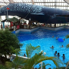 Photo taken at Aquaboulevard by Agnès R. on 10/7/2012