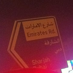 Photo taken at Sheikh Mohammed Bin Zayed Road شارع الشيخ محمد بن زايد by Ahmed A. on 10/11/2012