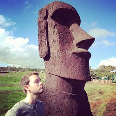 Photo taken at Isla de Pascua | Rapa Nui by Harlan V. on 5/20/2013