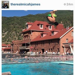 Photo taken at Glenwood Hot Springs by Colleen H. on 7/17/2013