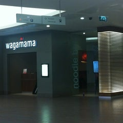 Photo taken at Wagamama by Gaz a. on 12/13/2012