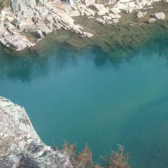 Photo taken at Johnson's Shut-Ins State Park by Kaitlin (Irish) G. on 2/9/2013
