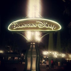 Photo taken at Downtown Disney District by Ahmed K. on 10/31/2012