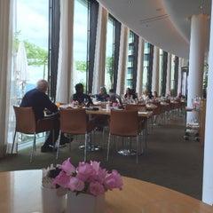 Photo taken at Dolder Grand Garden Restaurant by Chatchai T. on 5/9/2015