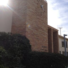 Photo taken at Whittier City Hall by Liz P. on 1/22/2013