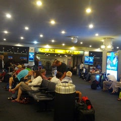 Photo taken at Gate A26 by Marshall M. on 8/13/2013
