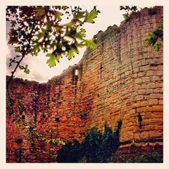 Photo taken at Caldicot Castle by Matt R. on 10/13/2012
