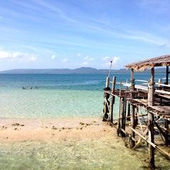 Photo taken at Umang Island Resort by Endi G. on 8/2/2014