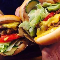 Photo taken at Crycheese Burger by YonJi J. on 7/12/2015