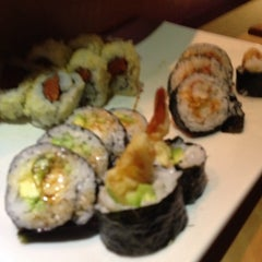 Photo taken at Wasabi Sushi and Grill by Heather S. on 10/25/2013