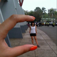Photo taken at Jogging Track by Sylvia A. on 10/20/2012