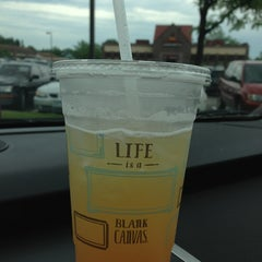 Photo taken at Caribou Coffee by Laura M. on 6/12/2013