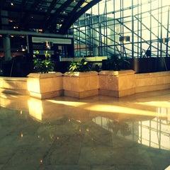 Photo taken at Santiago Marriott Hotel by Jaz M. on 6/19/2013
