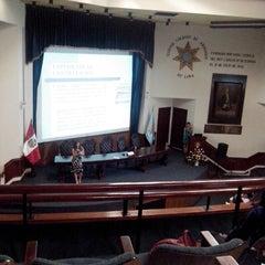 Photo taken at Colegio de Abogados de Lima by Christiam C. on 2/14/2014