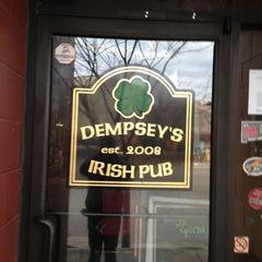 Photo taken at Dempsey's Burger Pub by Ryan W. on 2/16/2013