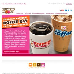 Photo taken at Dunkin Donuts by AZiZ4350 on 9/27/2013