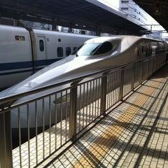 Photo taken at JR 名古屋駅 新幹線ホーム by Tororo O. on 4/22/2013