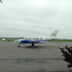 Photo taken at Lancaster Airport (LNS) by Nathan H. on 5/6/2013
