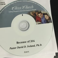 Photo taken at Christ Church by Benjamin G. on 4/4/2015