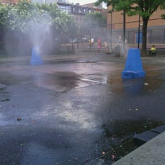 Photo taken at Park Slope Playground by Citlalli on 7/10/2013