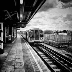 Photo taken at Perivale London Underground Station by Alan G. on 8/22/2014