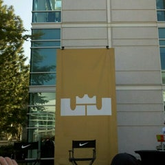 Photo taken at Nike - Mia Hamm Building by Benny C. on 9/17/2012