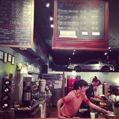 Photo taken at The Wormhole Coffee by Michael O. on 8/5/2013