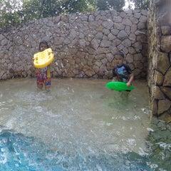 Photo taken at Swimming Pool - The Ritz Carlton 5th Floor Kuningan by Adhi R. on 7/30/2014